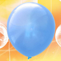 Wholesale 200 Blue Round Shape Latex Balloons Party Decoration