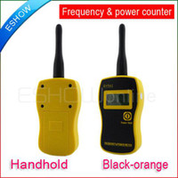 Wholesale Handhold Frequency amp Power Counter Gy561 New Black orange A0718F
