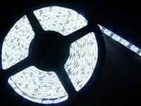 Wholesale 5M Bright Ultra White SMD Water proof Flexible LED Strip Light DC V