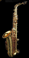 Wholesale best new High grade professional alto saxophone like Selmer Paris Reference Gold lacquer