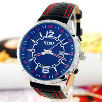 Wholesale Gentleman wrist watch EYKI Qichao cool mirror surface invariable inked ribbon calendar W8445GL