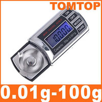 Wholesale On Sales g g Mini Digital Pocket Scale Precision Balance LCD units H1995 Cool Shape