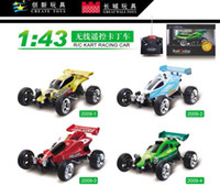 Wholesale Racing Car RC Toy RC Radio Remote Control F1 Go Cart Kart F1 Equation car with light lamping