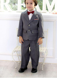 Wholesale boys formal suits children suits party suits costume clothes top pants tie