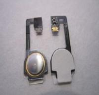 Wholesale Home Button Flex Cable Ribbon Repair Part for iphone G S GS HK Post