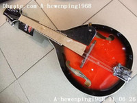Wholesale Newest arrival music instrument Mandolin in red free bag