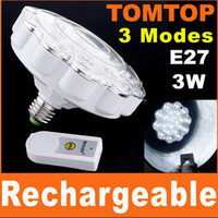 Wholesale 21 LED Built In Rechargeable Emergency Light Lamp W Remote Control H4376