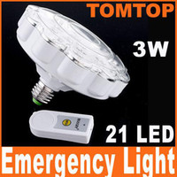 Wholesale On Sales LED Built In Rechargeable Emergency Light Lamp W Remote Control H4376