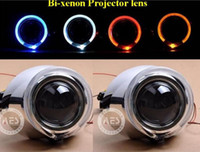 Voltage: 9-32V   2piece lot G3 VIP HID Bi-xenon projector lens (2.8INCH),LED ANGLE EYE