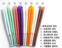 Wholesale 100pcs Indian Supreme Ear Candles Earplug Fragrance therapy Medical Ear Candle Straight Type