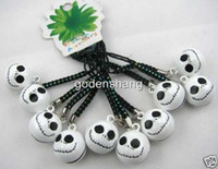 bell charm - 50 nightmare before christmas bell phone charms Straps