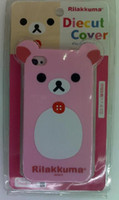 Wholesale For Iphone G Rilakkuma Bear With Ear Hard Back Silicone Protector Case Cover