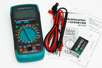Wholesale New Pro skit MT economic crystal test digital multimeter with backlight