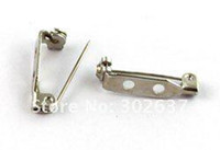 Wholesale 500PCS Holes Brooch Pin Back Bar Findings x5mm