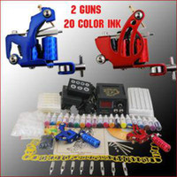 Wholesale Top Grade Tattoo Kit with Tattoo Inks Sterilized Tattoo Needles