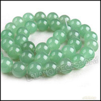 Wholesale Green Gemstone Spacer Bead Charms Loose Cute Jade Fit Making Bracelet Necklace