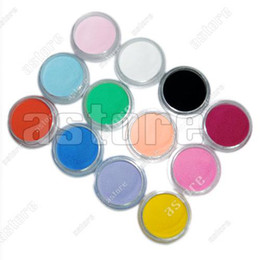 Wholesale Brand new color a set Mix Colors Acrylic Powder Builder Nail Art Set