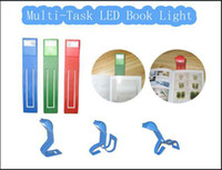 Wholesale Table Book Light Clip Reading Light Foldable Mini Book Light Fold into Different Shapes