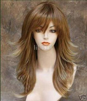 Wholesale Fashion wig Straight wig New Arrivals Synthetic wigs Ladies Wigs Long Wig curl wig