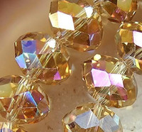Wholesale 72pc champagne AB Swarovski Crystal Loose Bead mm