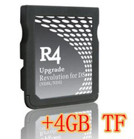 Wholesale Memory Cards amp Hard Drivers R4 DS R4DS R4 DS Revolution Card GB GB GB TF card for NDS NDSL