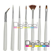 Wholesale Nail Art Design Brush Set Painting Pen Tips Tool UV Gel Polish Brushes Set New Hot set
