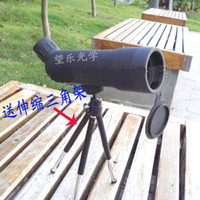 Wholesale BSA Spotting Scope X50 Single Binoculars Night Vision The Blue Film Bird Mirror Send a Tripod