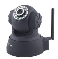 Wholesale 1pcs Foscam Wireless WiFi IP Internet Network Pan Tilt Security Camera S47B Two way Audio Support IE