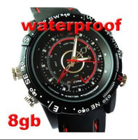 Wholesale Hotseliing GB Waterproof mini dvr Watch Camera DVR egomall