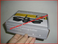 Wholesale hotselling pet dog training remote electronic control collar with LCD display directly seal