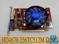 Wholesale Graphic Card HD HD4670 DDR3 MB BIT PCI E Video VGA Card Spike GT240