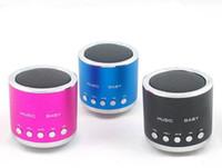 Wholesale 2016 New aluminum speakers Portable Speaker Portable mini speaker digital audio radio speakers charge