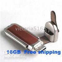 Wholesale USB GB USB Leather U disk USB FLASH DRIVE USB STICK MEMORY YG