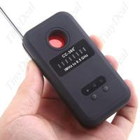 Bug Detector   Anti-Spy RF Laser Pinhole Bug Signal Detector Eavesdropping Device Hidden Camera (1MHz-6.5GHz) 10pcs