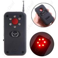 Bug Detector   Anti-Spy RF & Laser Pinhole Bug Signal Detector for Eavesdropping Device Hidden Camera (1MHz-6.5GHz)