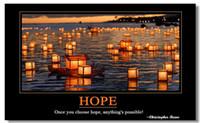 motivational posters - Motivational Inspirational Success Art Poster Silk canvas Poster wall poster quot HOPE quot