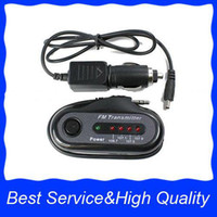 Wholesale 3066 FM Transmitter Wireless Car Charger MP3 Black New
