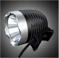 Wholesale led light led bike headlight ssc p bicycle headlamp lumens aluminium alloy rechargeable