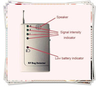 Wholesale RF Bug Signal Detector Locator Tracer Wireless Camera Finder Anti spy earphone FK901 e_shop2008