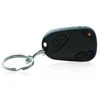 Wholesale 100PCS New video Hidden camera spy Car Keys DVR Support TF Card free DHL