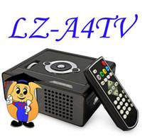 Wholesale LZ A4TV ANSI Lumens Projector for Home Theater DVD TV Laptop pc