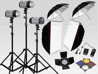 Wholesale 750W STUDIO Flash Lighting x w LIGHT KIT kakacola shop