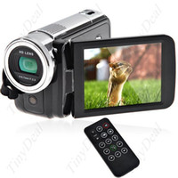 Wholesale 3 quot Degree Rotary Touch Screen MP CMOS P HD DV Camcorder Digital Video Recorder HDMI