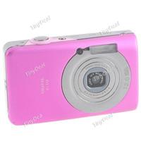 Wholesale 2 quot LCD Digital Camera M Pixel CMOS X Digital Zoom Green Rose Pink Black