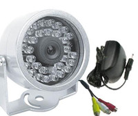 Wholesale New LED Infrared Waterproof CCTV Color Wired Camera homealarm