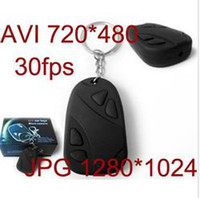 Wholesale 10pcs black color spy Key Mini DV Car Remote DVR Hidden Recorder Micro Video Camera