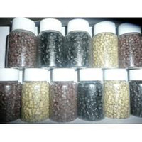 Wholesale Silicon Micro Rings for Feather Hair Extension Link Bead Mixed Color bottle