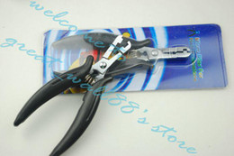 Wholesale Hot sale the professional black colour pliers for Feather Hair Extension kit