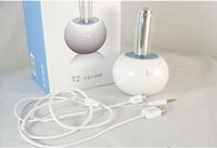 WHITE portable vibration speaker - Special Offer Multimedia Portable vibration resonance stereo speaker i mu T2