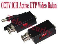 active balun cctv - CCTV Pair Active UTP Video Balun Transmitter amp Receiver